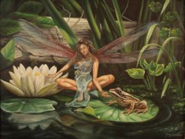 The Fairy and the Frog by Garylovelace