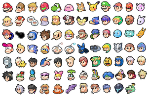 Super Smash Bros icons by ShyKitty20