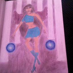 Winx Club OC Isabella fairy of the water dragon by baquarius13