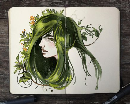 .: Garden Head by Picolo-kun