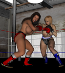 Busty Betty Vs Beth Anderson 2 by NightmareRacer85