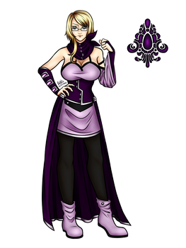 [C] Viola Margery by SableNight112