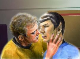 Something  in your eyes Spock? by Emushi