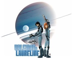 Valerian and Laureline by MarcosBe