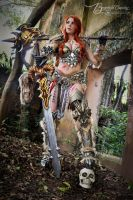 Barbarian from Diablo 3 by  Brynhild Cosplay by Brynhild-Undomiel