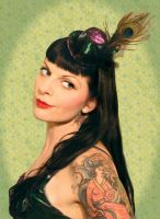 Burlesque Hat 6 by MaryWatkins