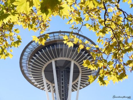 Seattle Space Needle by Guardianofthenight