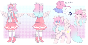 Anime oc: Angel Star by Twily-Star