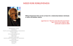 Desmond Tutu - need for forgiveness by YamaLama1986