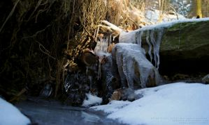 Ice waterfall by xTernal7