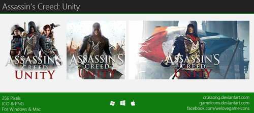 Assassin's Creed: Unity - Icon 2 by Crussong