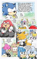 Sonic Got Amy Pregnant Pg 94 by sonicxamy09