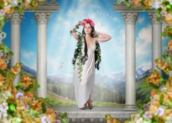 Flora Goddess of Flowers by Leviatha87