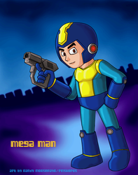 Mega Man by rmsk8r05