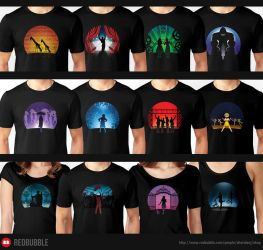 Musical T-Shirt Collection by Sheridan-J