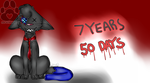 7 Years And 50 Days [REDRAW 2.0] by KarsiTheDog
