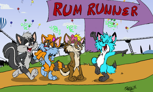 Run with Rum! by Foxlover91