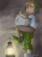 Where is Stephano ?! - Pewdiepie Cry by Nami-chwann