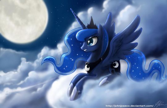 Another Luna Night by johnjoseco