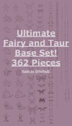 Ultimate Base Taur and Fey Expansion, 362 Pieces! by Ethelbutt