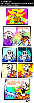 Undertale ask blog: off switch by JimPAVLICA