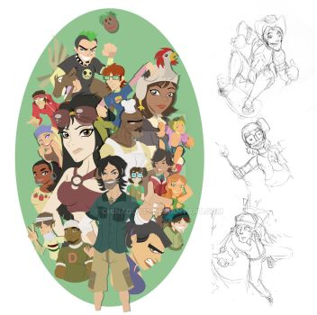 Total Drama Island Step 5 of 8 by chinaguy16