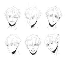 PR: Miguel Expression Sheet by Huuni