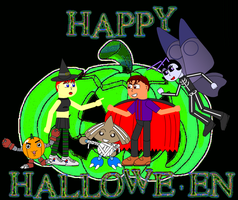Happy Halloween by Pokelord-EX