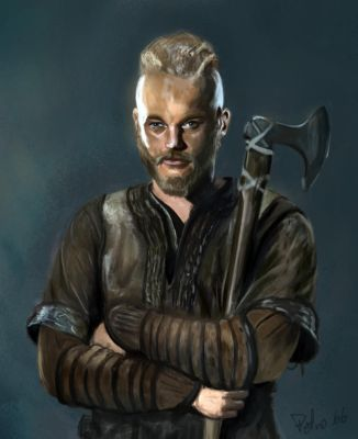 Ragnar king of the north by petro66