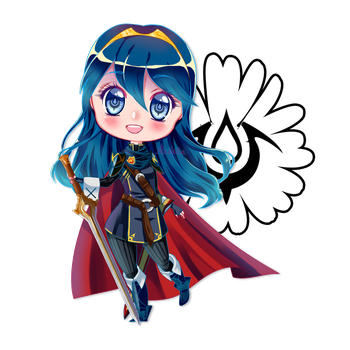 Chibi Lucina by Nikowise