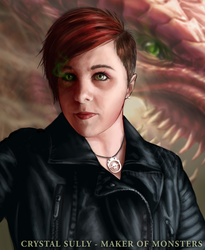 Self Portrait 2015 by CrystalSully