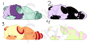 speckled puppies NYP (closed) by shadowfairyy
