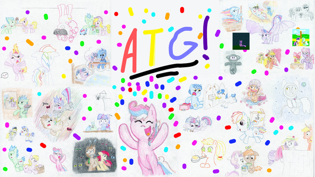Celebrating the ATG - ATG 6 Day 30 by KirbyLiscious