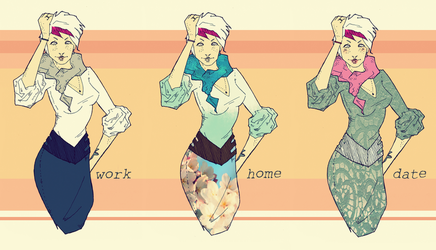 Outfits by volokine