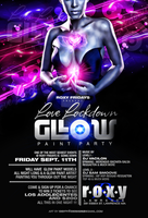 love lockdown glow party flyer by DeityDesignz