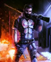 The Punisher by LouizBrito