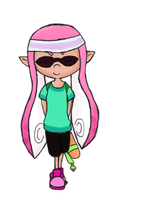 pink inkling by Puccawitch
