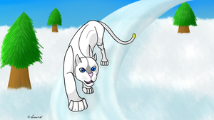 How I Draw Winterstar (OC) - redraw by horse14t