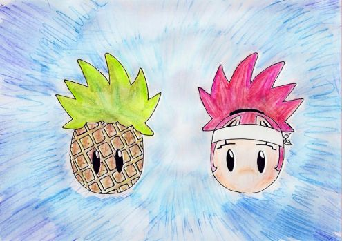 Pineapples II by Morgi-chan