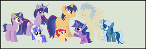 Twilight's family by StarHeartWaveSong