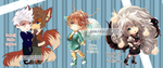 LAST CHIBIS OF 2015 by kura-ou