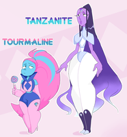 (closed) thicc ponytail gem adopts by PersonificationMaker