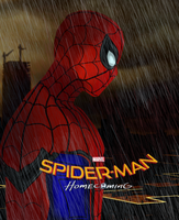 SPIDER MAN HOMECOMING  POSTER by GameLACK29