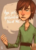 You just gestured to all of me by flominowa