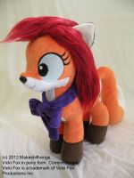 Vicki Fox Pony Plushie by makeshiftwings30