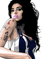 Amy Winehouse by c-charalambous