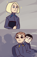 only room for one science officer on this ship by annicron