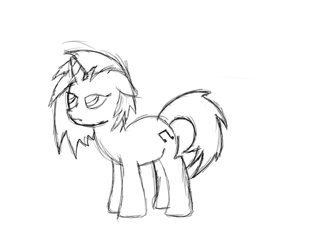 Vinyl Sketch by StrykerBrony
