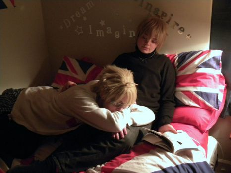 [APH] USUK: Novel Lost to Sleep by SelexiaOfTheHeart
