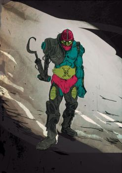 Trap Jaw (Masters of the universe) fan art by AntoineDode